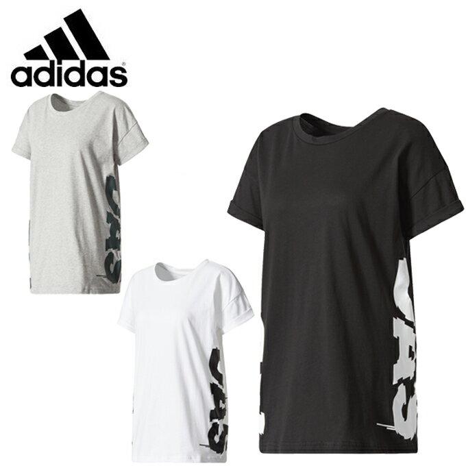 【特価】アディダス Tシャツ 半袖 レディース W ALL CAPS半袖 オール キャップス DSW59 adidas sw