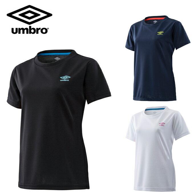 アンブロ UMBRO Tシャツ 半袖 レディース ワンポイントS/Sシャツ UMWLJA65 sw