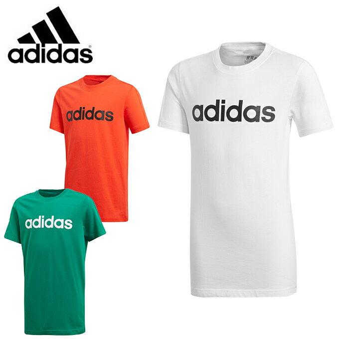 アディダス Tシャツ 半袖 ジュニア ESS リニアロゴ Tシャツ MLB22 adidas sw