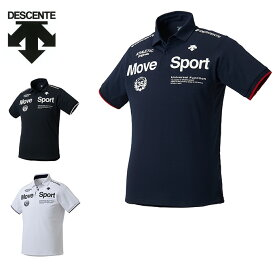 デサント DESCENTE ポロシャツ 半袖 メンズ TOUGH ポロライト DMMNJA78 吸汗速乾 ドライ スポーツウェア トレーニング ジム カジュアル sw