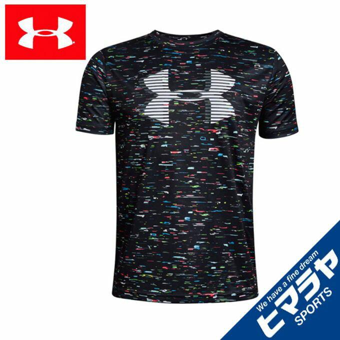 アンダーアーマー Tシャツ 半袖 ジュニア キッズ 男の子 ボーイズ UAテックビッグロゴプリントTシャツ 1331688 001 UNDER ARMOUR sw