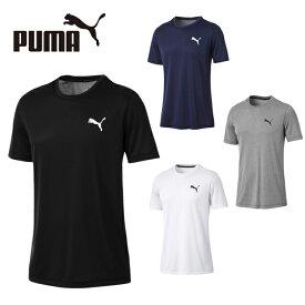 プーマ Tシャツ メンズ 半袖 ACTIVE SS Tシャツ 851702 PUMA 吸汗速乾 ドライ スポーツウェア トレーニング ジム ワンポイント sw
