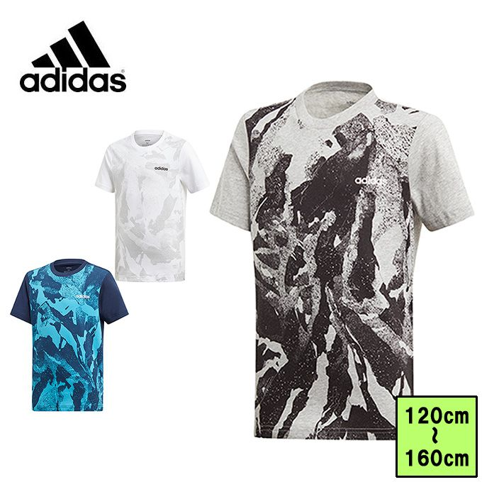 アディダス Tシャツ 半袖 ジュニア キッズ 男の子 ボーイズ CORE グラフィック FTN16 adidas sw