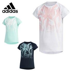 アディダス 半袖 ジュニア キッズ 男の子 キッズ 女の子 ガールズ TRN ボタニカルグラデーション Tシャツ FTJ49 adidas sw
