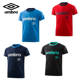 アンブロ UMBRO Tシャツ 半袖 ジュニア キッズ 男の子 ボーイズ ワードロゴ半袖機能Tシャツ UMJNJA60 sw
