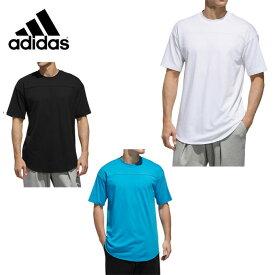 【期間限定クーポン発行中】アディダス Tシャツ 半袖 メンズ S2S 3STRIPES ワーディングラウンドテールTシャツ FTL07 adidas スポーツウェア トレーニング ジム 綿 sw