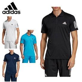 アディダス(adidas) ポロシャツ メンズ 半袖 TENNIS CLUB 3STR POLO テニス クラブ ポロ FRW69 吸汗速乾 ドライ スポーツウェア トレーニング ジム sw