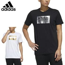 アディダス Tシャツ 半袖 メンズ グラフィックTシャツ GVB49 adidas sw
