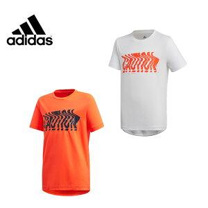 アディダス Tシャツ 半袖 ジュニア キッズ 男の子 ボーイズ Own the Run T-Shirt オウン ザ ラン ティーシャツ GSV81 adidas 通学 吸汗 速乾 sw