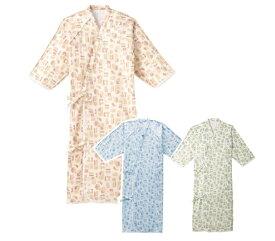 ☆☆エンゼル製ケアねまき サイズS/M/L【介護用衣料】【介護用パジャマ】 5074