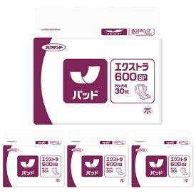 ネピアテンダー エクストラ600 SP ケース(合計120枚入[30枚×4袋]) 【大人用 紙おむつ 介護用紙オムツ 尿とりパッド 男性用 女性用 尿取りパッド 尿とりパット 尿取りパット 】