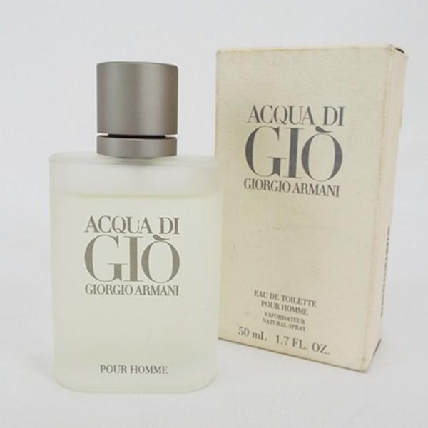 ジョルジオ・アルマーニ 香水 アクア デ ジオ オードトワレ スプレータイプ 50ml フレグランス 中古 GIORGIO ARMANI ACOUA DI GIO EDT SP アクア ディ ジオ