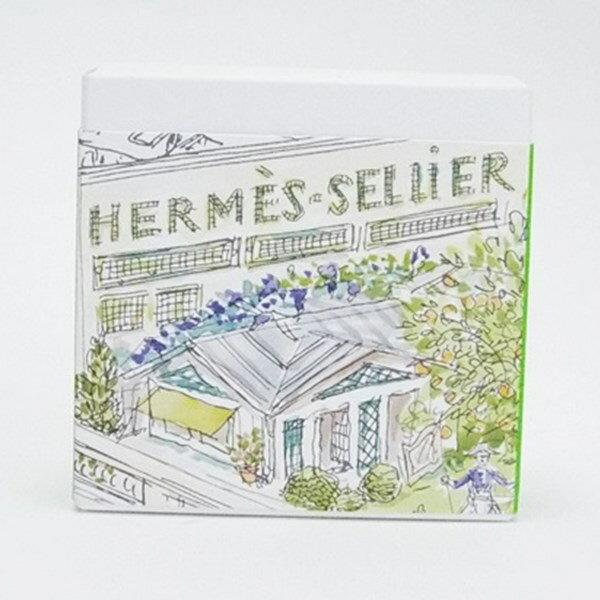 エルメス 香水 未使用 屋根の上の庭 石鹸 100g フレグランス 中古 HERMES