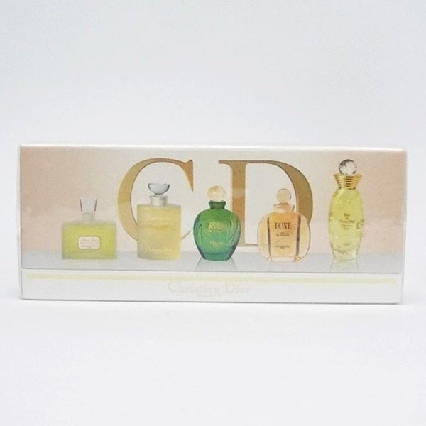 クリスチャン・ディオール ラ・コレクション ミニ香水5点セット オードトワレ ボトルタイプ 各5ml フレグランス 中古 Christian Dior EDT BT