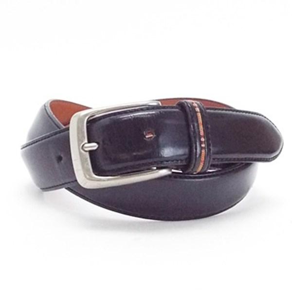 バーバリー レザー ベルト 中古 Bランク ブラック Burberry 全長101.5センチ 実寸81センチ〜86センチ メンズ