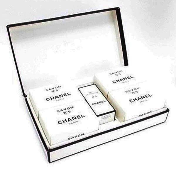 シャネル 香水 未使用 NO.5 オードトワレ 19ml 石鹸 100g×4個 セット フレグランス 中古 CHANEL ナンバー5
