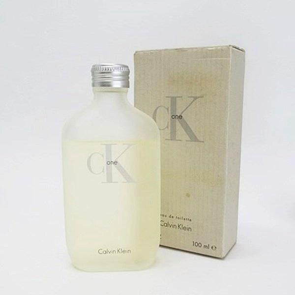 カルバンクライン 香水 シーケーワン オードトワレ ボトルタイプ 100ml フレグランス 中古 Calvin Klein ckone EDT BT スプレーノズル付き