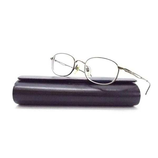 エンポリオ アルマーニ メガネフレーム 度入り眼鏡 50口19 135 中古 Bランク EMPORIO ARMANI