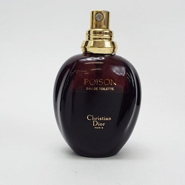 クリスチャン ディオール 香水 プワゾン オードトワレ スプレータイプ 50ml フレグランス 中古 Christian Dior POISON プアゾン SP EDT