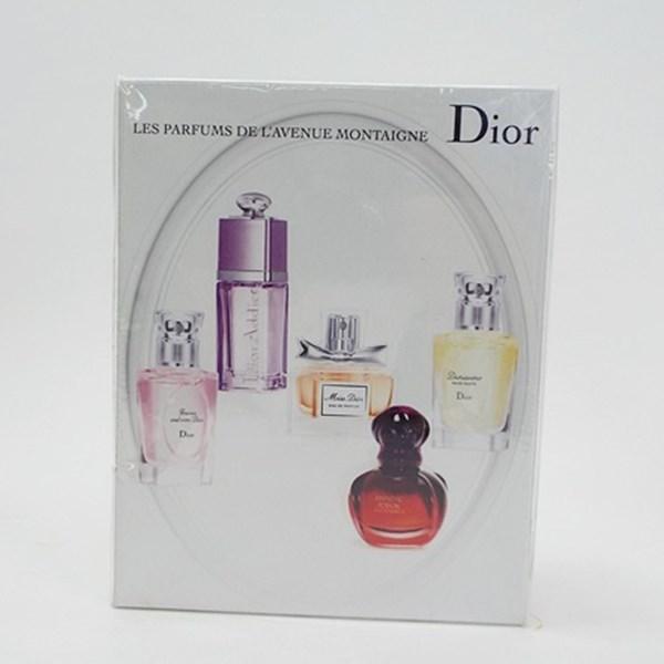 クリスチャン・ディオール 未開封 ミニ香水5点セット フォエバーアンドエバー アディクト ミスディオール ヒプノティックプワゾン ディオリッシモ オードパルファム&オードトワレ スプレータイプ 各7.5ml フレグランス 中古 Christian Dior EDP&EDT SP