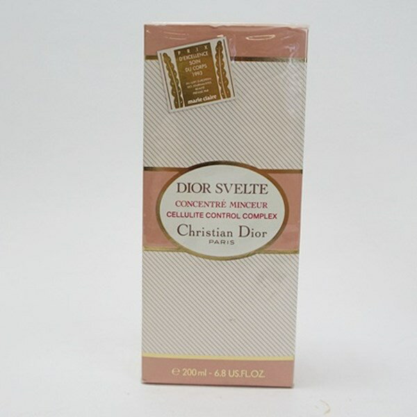 クリスチャン・ディオール スヴェルト 未開封 香水 マッサージクリーム 200ml 中古 Christian Dior SVELTE