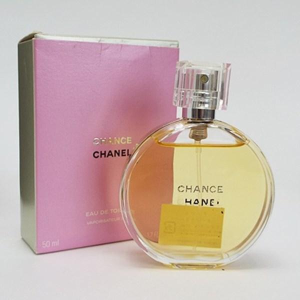 シャネル 香水 チャンス オードトワレ スプレータイプ 50ml フレグランス 中古 CHANEL CHANCE SP EDT