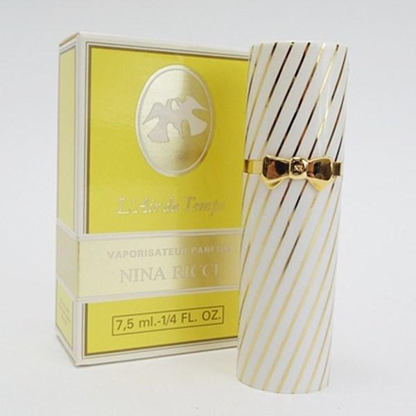 ニナリッチ 香水 レールデュタン パルファム スプレータイプ 7.5ml フレグランス 中古 NINA RICCI L'Air du Temps SP P