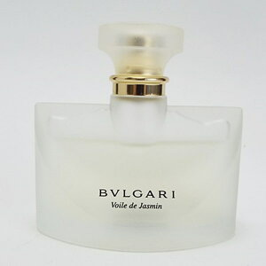 ブルガリ香水ジャスミンヴェールオードトワレスプレータイプ50mlフレグランス中古BVLGARIVoiledeJasminEDTSP
