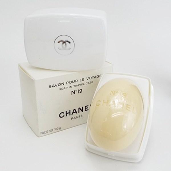 シャネル 香水 NO.19 未開封 未使用 石鹸 ケース付 100g フレグランス 中古 CHANEL ナンバー19
