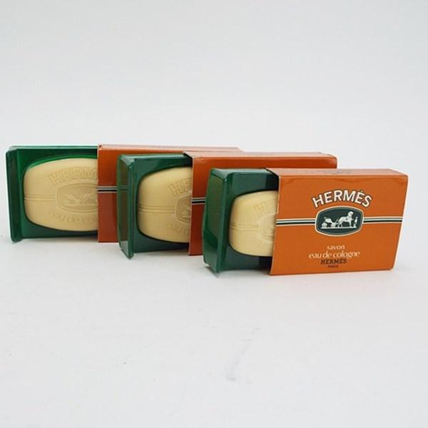 エルメス 香水石鹸 未使用 60g×2、25g×1 3個セット フレグランス 中古 HERMES SAVON PARFUME【送料無料】