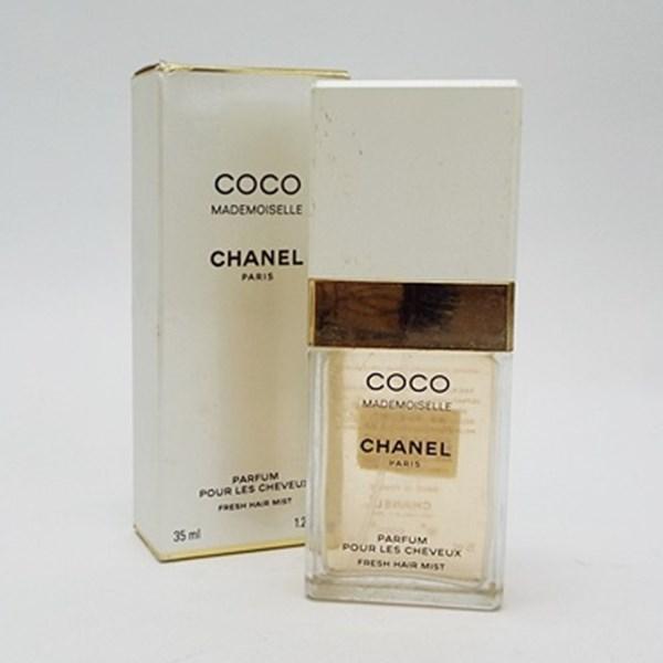 シャネル 香水 ココマドモアゼル ヘアミストスプレータイプ 35ml 中古 CHANEL COCO MADEMOISELLE  フレグランス パフューム 箱付き SP