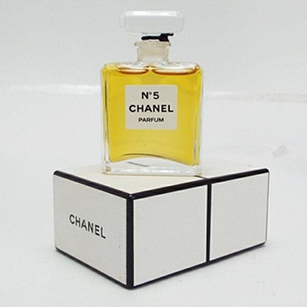シャネル 香水 未開栓 NO.5 パルファム ボトルタイプ 7ml 中古 CHANEL NO.5 |女性用 レディース フレグランス パフューム P BT 箱付き