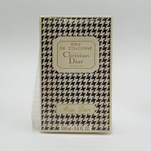 クリスチャン・ディオール 香水 ミス ディオール オーデコロン ボトルタイプ 108ml 中古 Christian Dior Miss Dior |女性用 レディース フレグランス パフューム EDC BT 箱付き