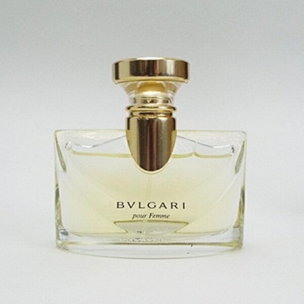 ブルガリ 香水 プールファム オードパルファム スプレータイプ 50ml 中古 BVLGARI pour Femme |女性用 レディース フレグランス パフューム EDP SP 箱なし