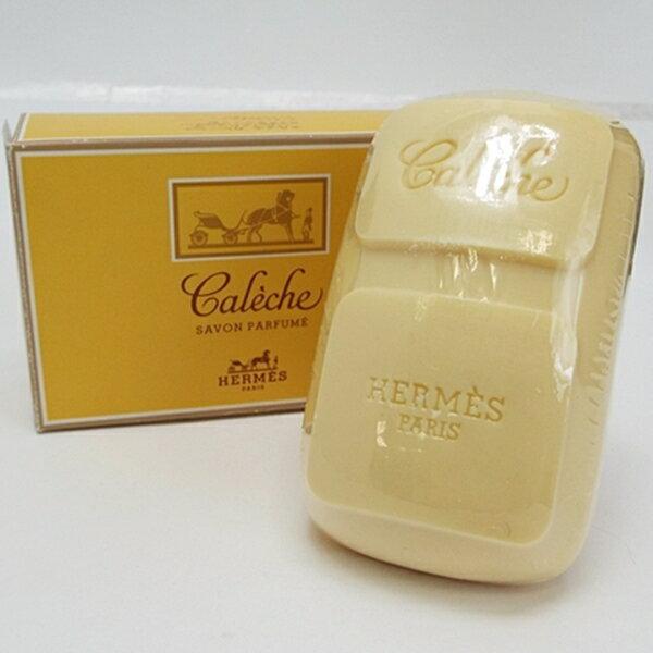 エルメス 香水石鹸 カレーシュ 未使用 100g 中古 HERMES Caleche SAVON PARFUME|女性用 レディース フレグランス パフューム 箱付き ソープ