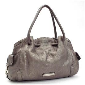 コールハーン トートバッグ ショルダーバッグ 肩掛け シルバー 中古 Bランク COLE HAAN   レディース 女性用 保存袋付き【送料無料】