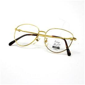 モスキーノ 眼鏡フレーム 未使用 M05730 51□15 145 ゴ−ルド 中古 Aランク MOSCHINO|男女兼用 メンズ レディース ケースなし【送料無料】