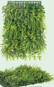 グリーンマット壁面緑化ウォールグリーンアーティフィシャルリーフマット壁面装飾ウォールデコAユーカリミックス