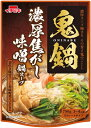 【イチビキ】鬼鍋 濃厚焦がし味噌 鍋スープ 750g 3〜4人分【冬季限定】