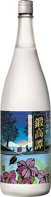【合同酒精】しそ焼酎 鍛高譚 1800ml