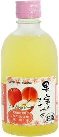 【麻原酒造】果実のささやき アップル&ピーチ 300ml