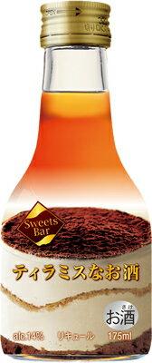 Sweets Bar ティラミスなお酒 175ml