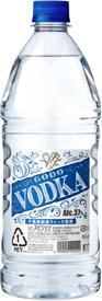 【合同】GODO(ゴードー) ウォッカ ペットボトル 1800ml×6本