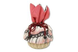 巾着 浴衣 ツモリチサト 浴衣巾着 T-126 ピンク 大幅値下げ 処分価格 [きんちゃく ゆかた 小物]
