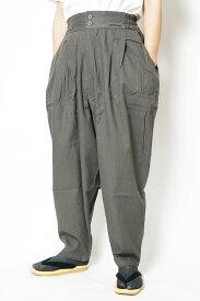 作務衣 パンツ かく宗 綿100% 作務衣ゆったりパンツ 灰 S/M/L/LL 作業パンツ もんぺ ズボン