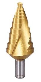 TRUSCO/トラスコ中山(株) ステップドリル 2枚刃チタンコーティング 6〜27mm 段数11 TSDSC27
