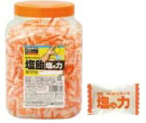 【熱中症対策に!】TRUSCO/トラスコ中山(株) 塩飴 塩の力 レモン味 【軽税】 TNL-750N 750グラムボトルタイプ(約175粒)