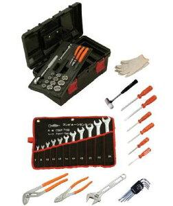 スーパー/(株)スーパーツール プロ用標準工具セット(差込角12.7mm)S6500N