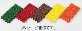 【代引き不可商品】【時間指定不可】TERAMOTO/テラモト ユニットターフα(アルファ) 赤 150×300 人工芝 MR-001-074-2