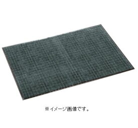 【代引き不可商品】【時間指定不可】TERAMOTO/テラモト 雨天用マット ネオレインマット 600×900 グレー MR-031-040-5